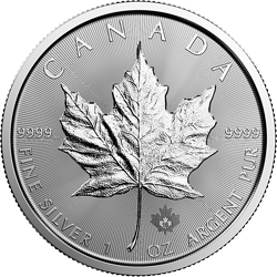 1 Oz Silver Coin | Canadian Maple Leaf 2017
