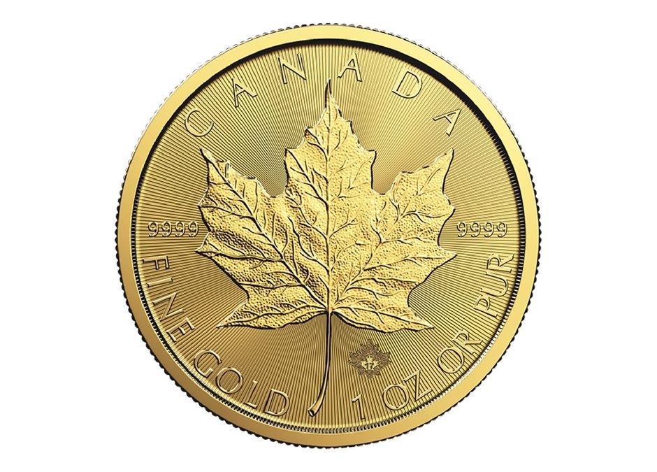 Canadian Maple Leaf (DNA) 1 Oz Gold Coin 2017