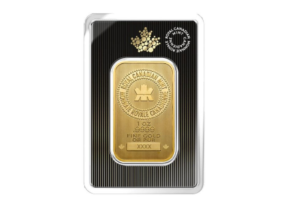 Guildhall Wealth Management Fine Gold 1 Ounce Bar