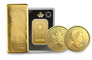 Shop Gold Bars & Coins